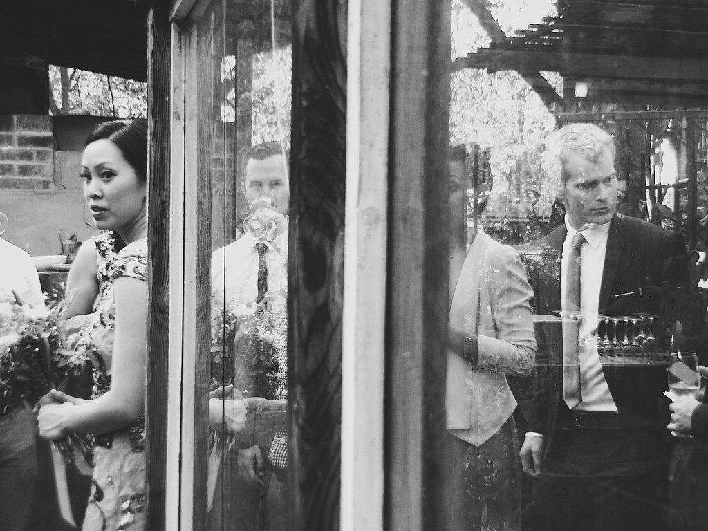 Tina + Andrew . All iPhone Wedding